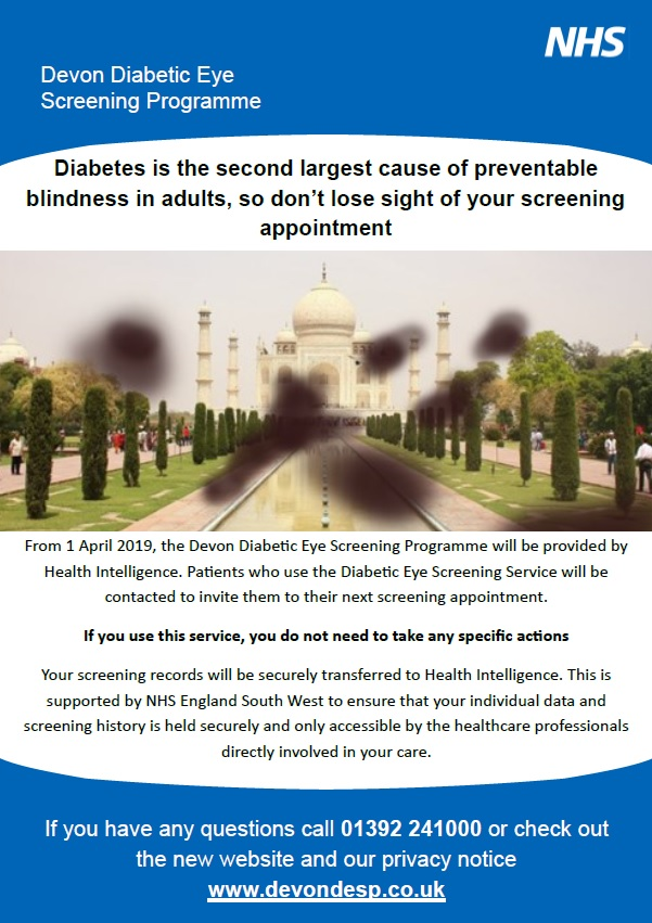 Devon Diabetic Eye Screening